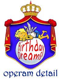 Kid's Parties at Birthday Dreams - Logo